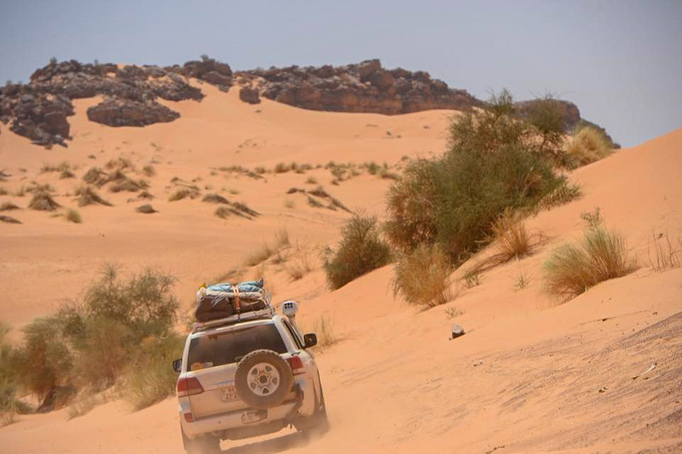 Gloria Soriani's trip to Morocco and Mauritania: following her adventure with TransAfrica