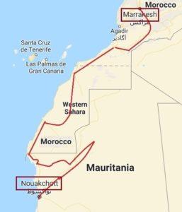 Marrakech-Nouakchott