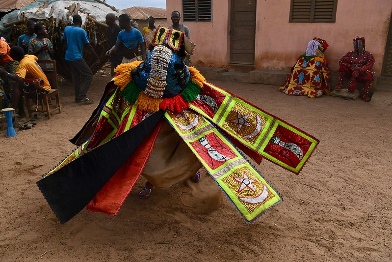 Places in West Africa where life continues its course despite the echoes of the pandemic